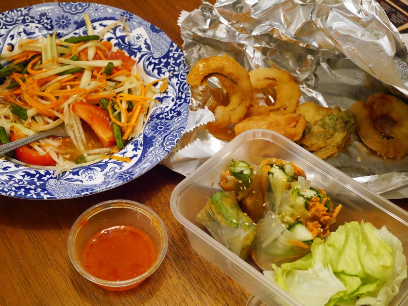 Saba Thai Vegan Takeaway in Brighton Review