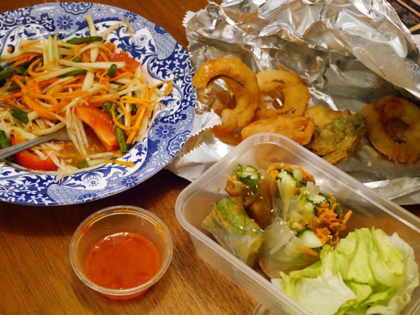 Saba Thai Vegan Takeaway in Brighton Review