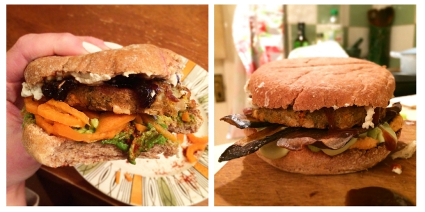 The Vegan Sheese-Burger on Cate in the Kitchen