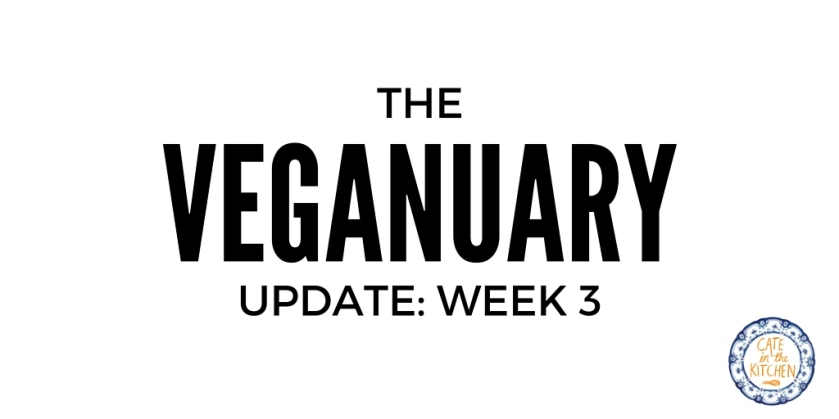 Veganuary Update on Cate in the Kitchen
