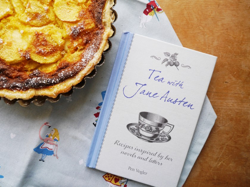 Buttered Apple Tart from Tea With Jane Austen