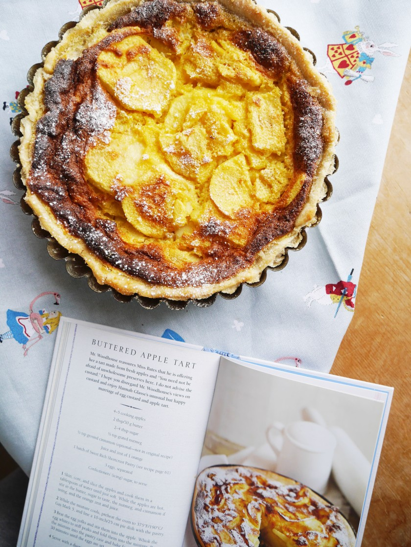 Buttered Apple Tart from Tea with Jane Austen