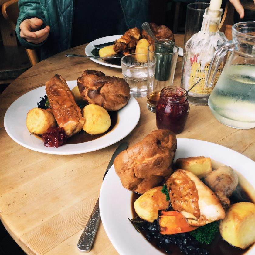 Sunday Roast at The Geese Pub Brighton