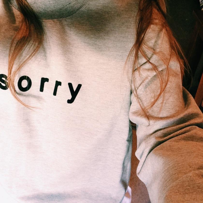 Sorry Sweat from Boo Hoo