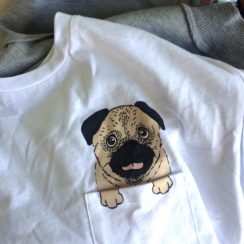 Pug T Shirt Primark