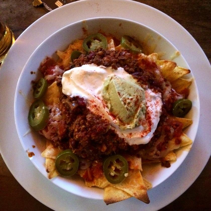Chilli Nachos at The Hanover Pub