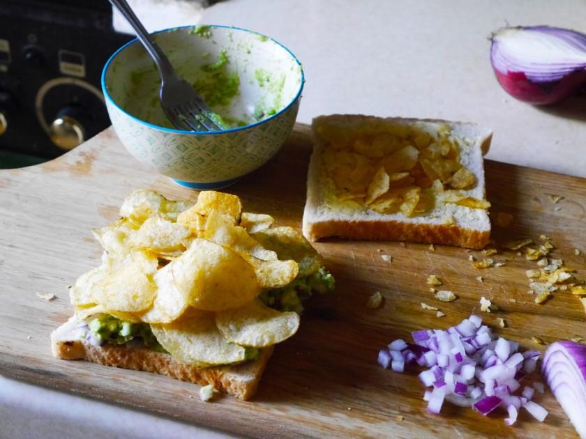 Fancy Vegan Crisp Sandwich