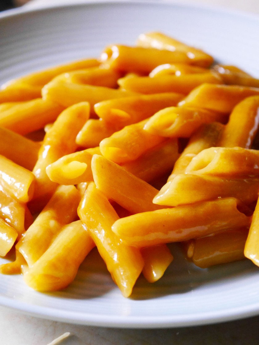 Cheese and Marmite Pasta