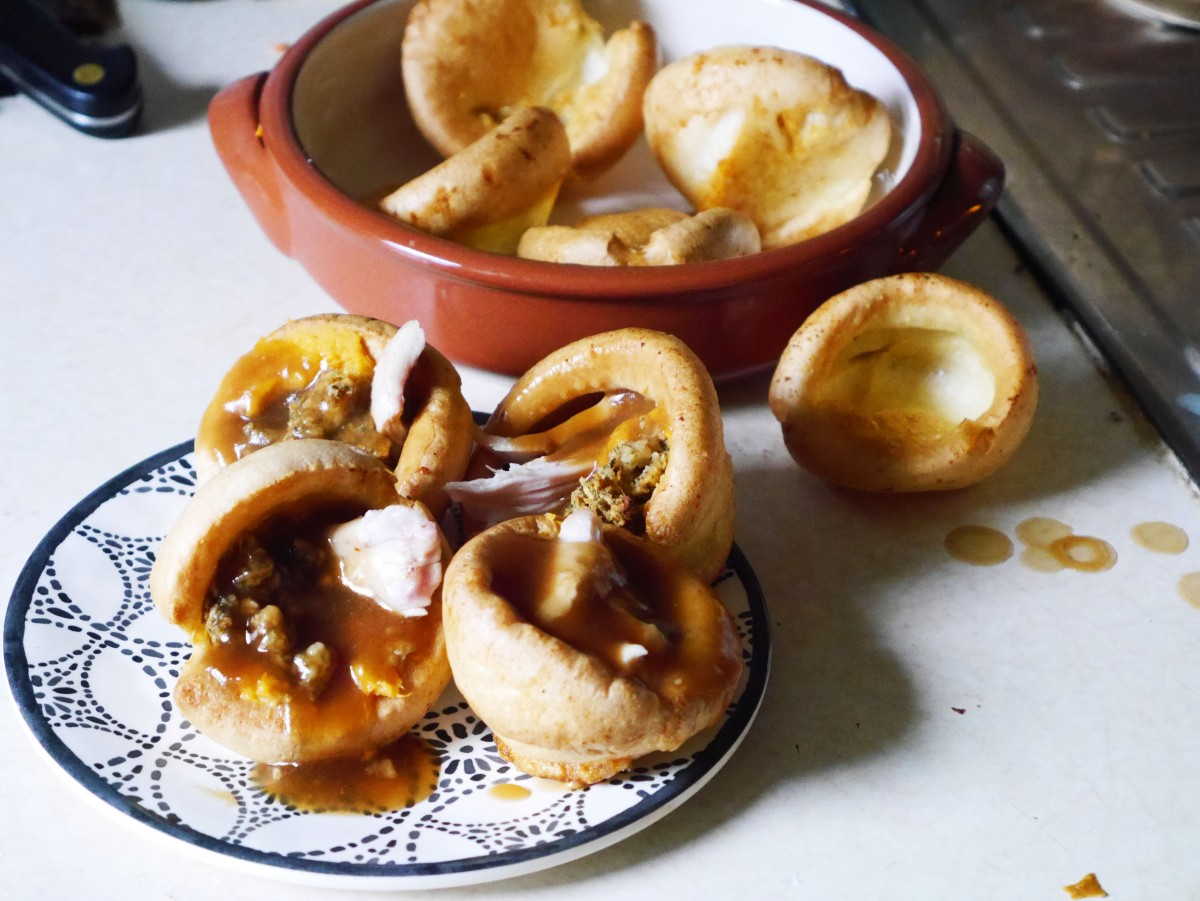 Filled Yorkshire Puddings