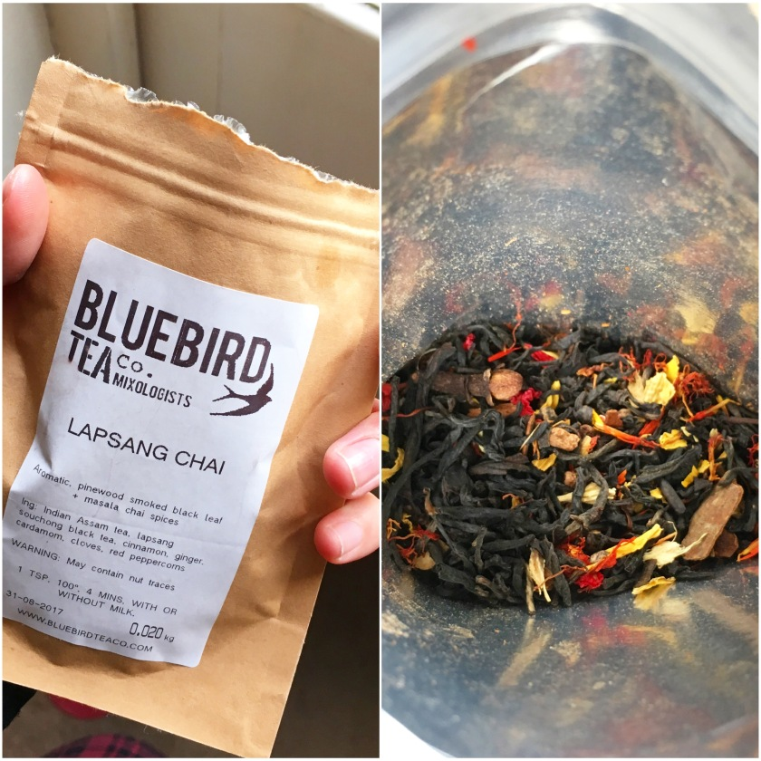 bluebird tea co lapsang chai