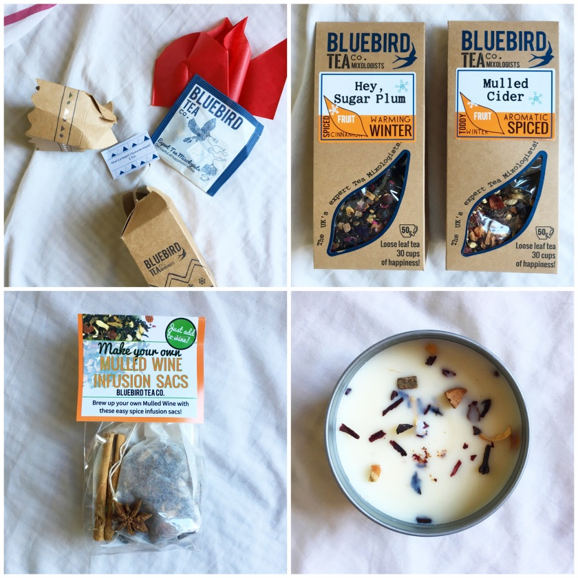 Bluebird Tea Co Christmas 2016