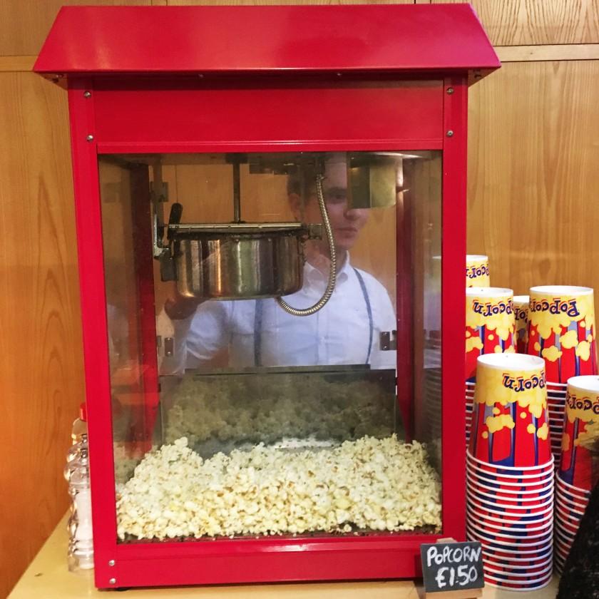 Popcorn at Gin Festival Brighton 2016