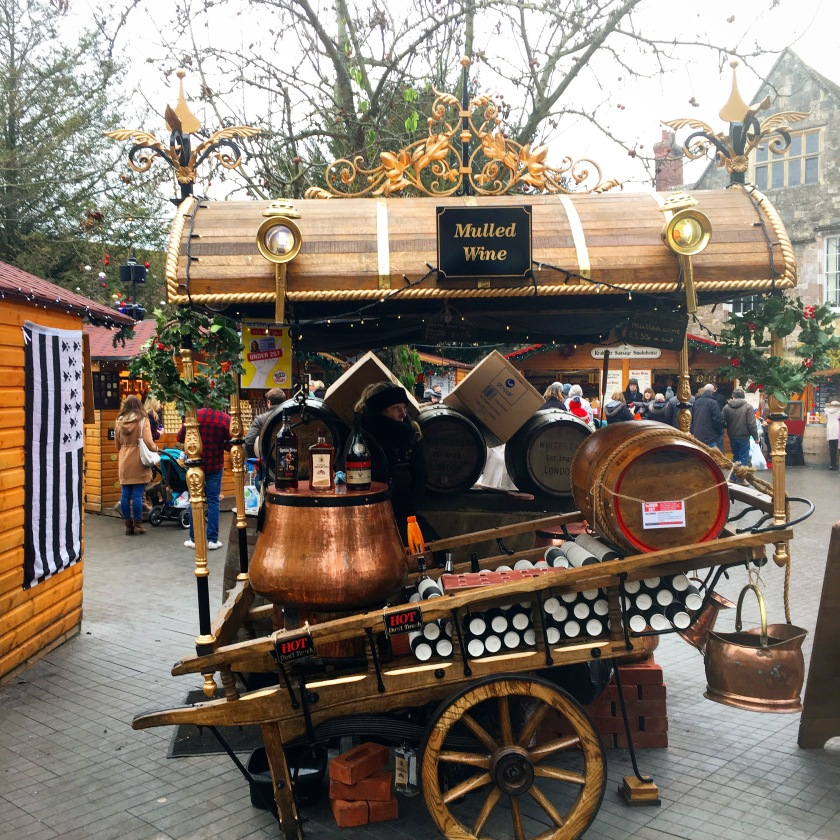 Mulled Wine at Winchester Christmas Market