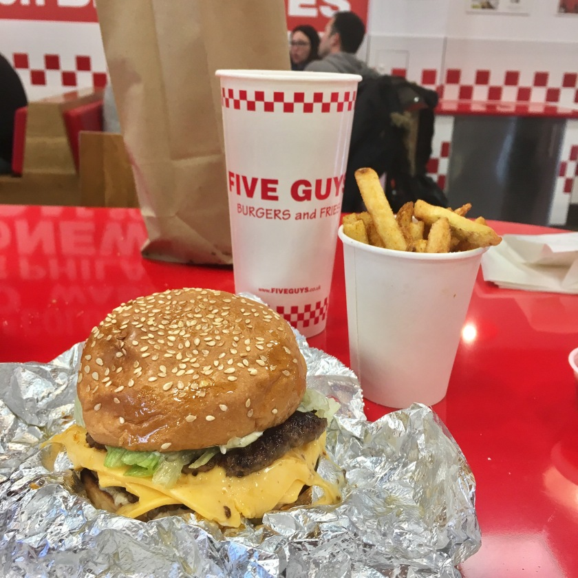 Five Guys Brighton