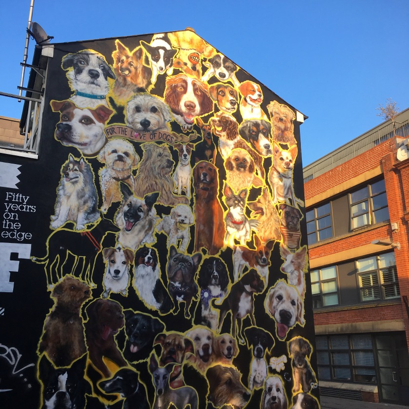 Wall of Dogs Brighton