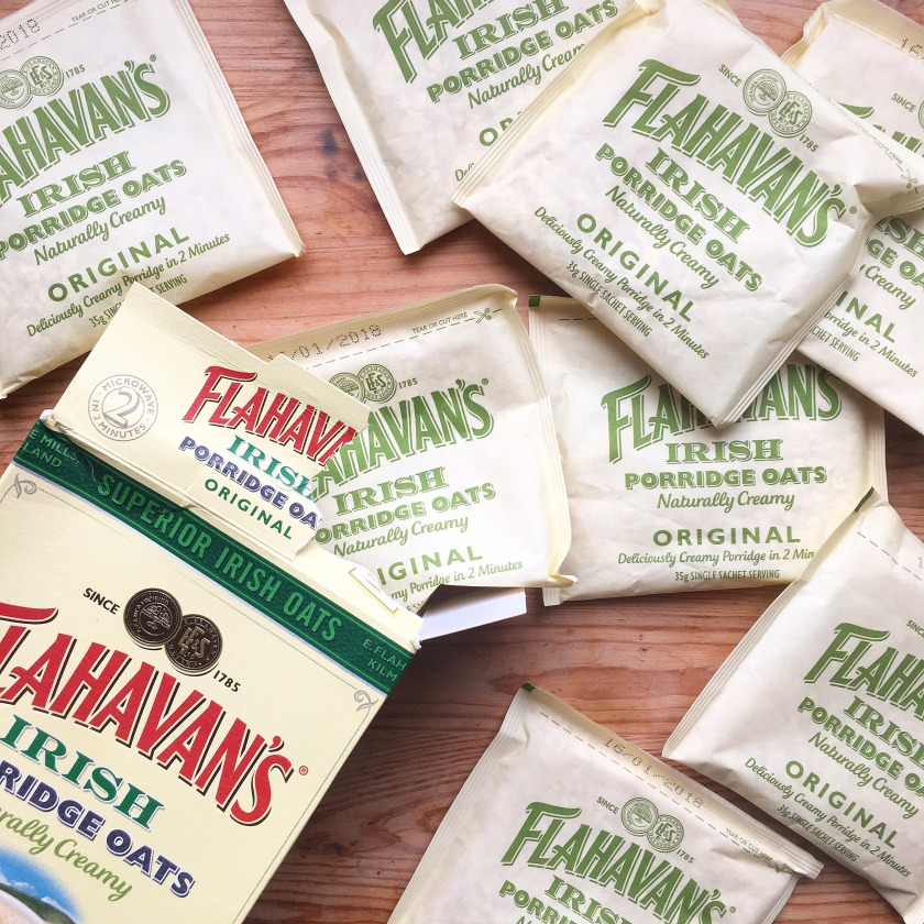 flahavan's irish oats sachets