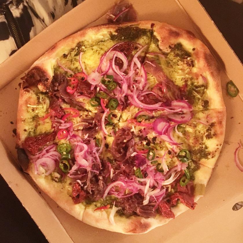 Pizzaface Vegan Pizza