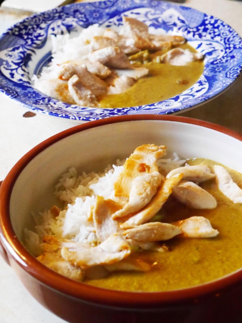 Peanut Butter Coconut Curry Sauce