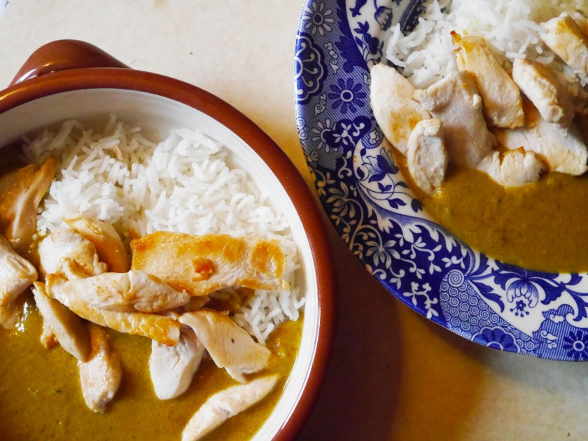 Peanut Butter and Coconut Curry