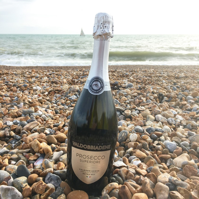 Prosecco on Brighton Beach