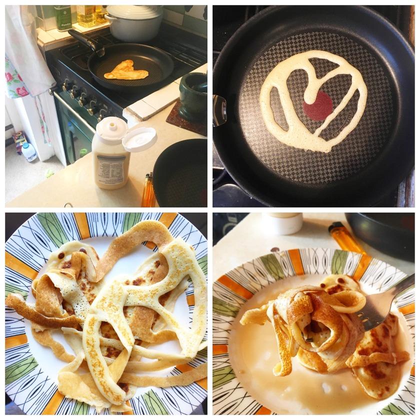 Pancake Spaghetti