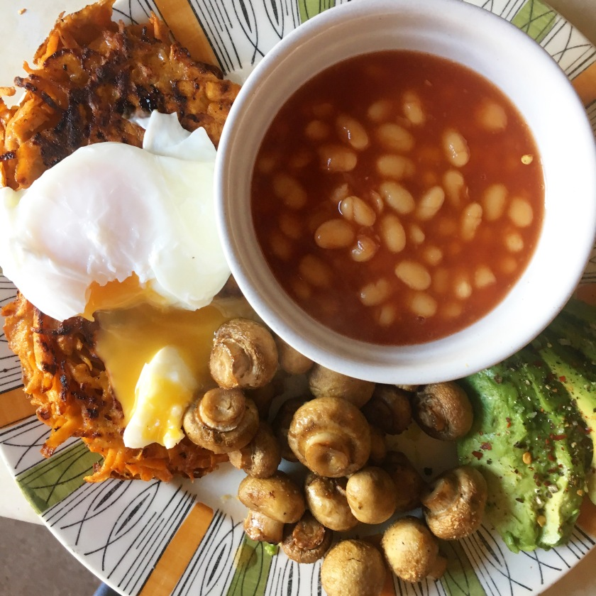 Big Vegetarian Breakfast