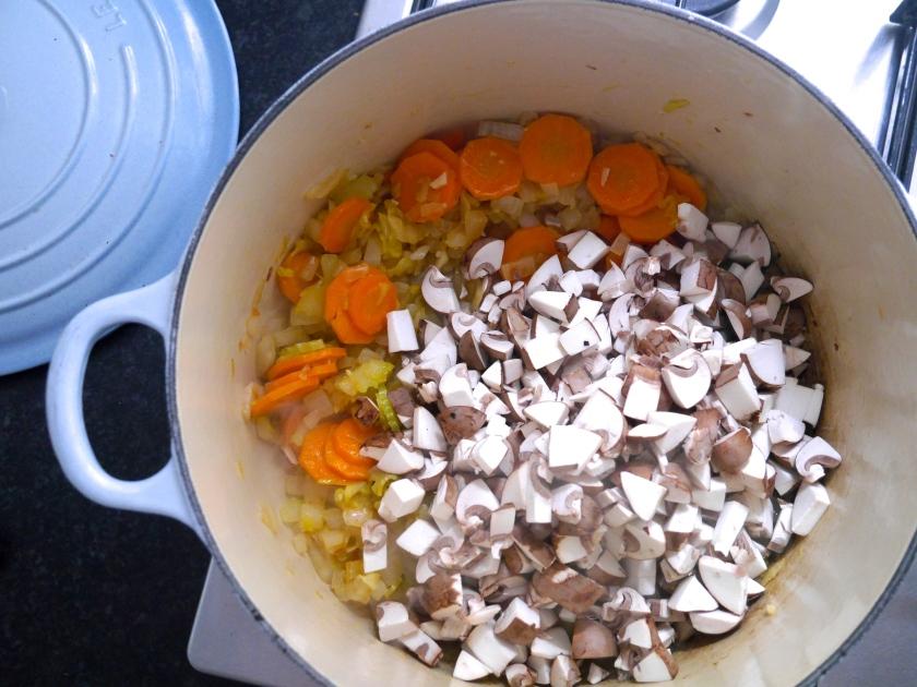 Chestnut Mushroom Bolognese