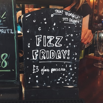 Fizz Friday at The Windmill