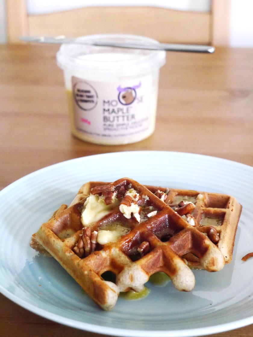 Moose Maple Butter Waffles