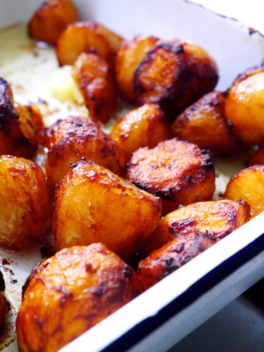 Marmite Roast Potatoes