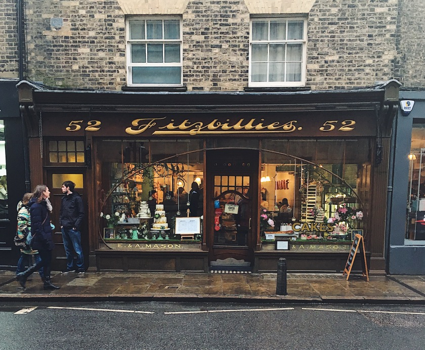 Fitzbillies, Trumpington St, Cambridge