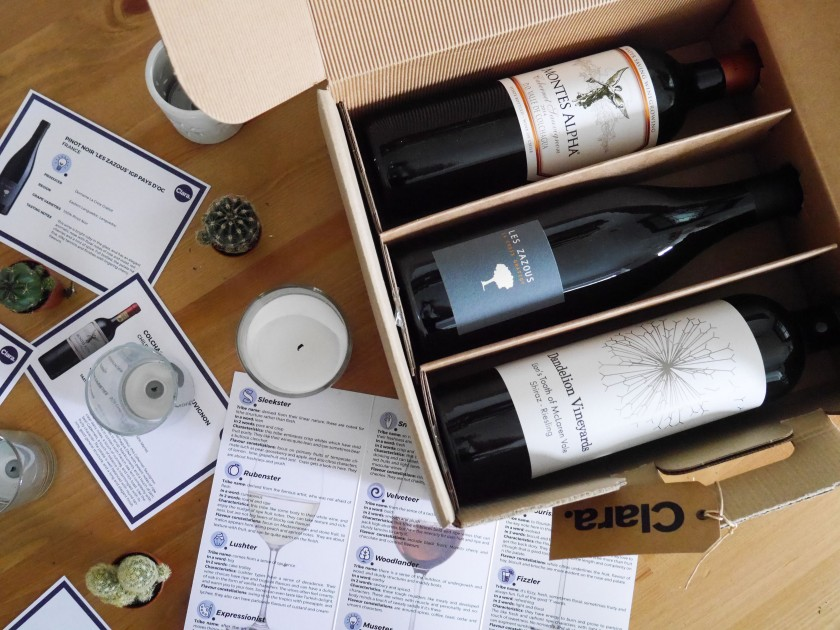 Clara Wine Subscription Box Review